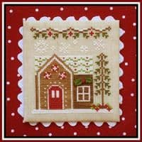 Country Cottage Needleworks Gingerbread House 6 cross stitch chart