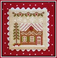 Country Cottage Needleworks Gingerbread House 7 cross stitch chart
