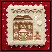 Country Cottage Needleworks Gingerbread House 8 cross stitch chart