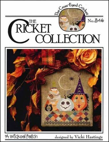 Cricket Collection A Wicked Patch cross stitch chart