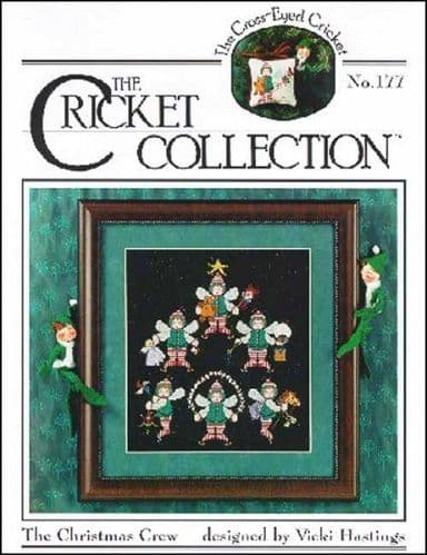 Cricket Collection The Christmas Crew cross stitch chart