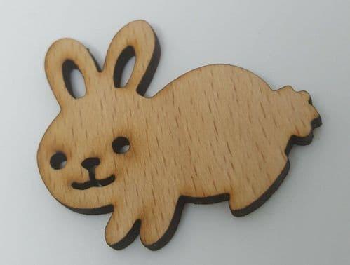Cute Rabbit wooden Needle Minder