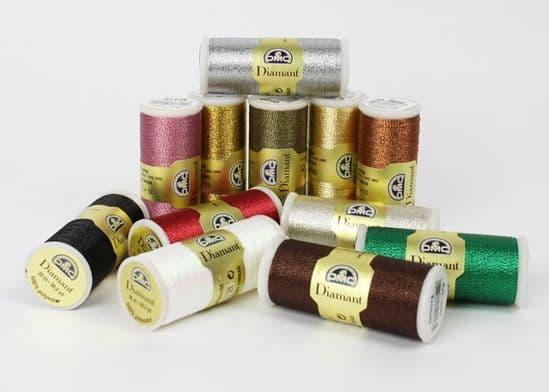 DMC Diamant Metallic Threads Art 380