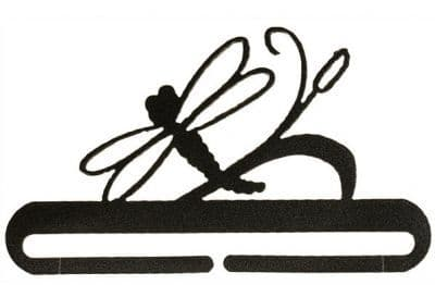 """Dragonfly 6"""" Charcoal Metal Bellpull"""