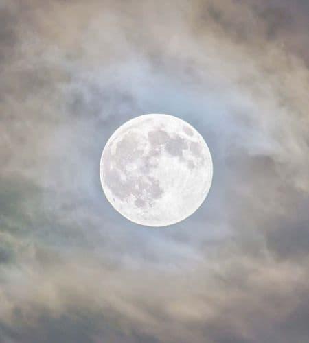 Fabric Flair Full Moon Blue