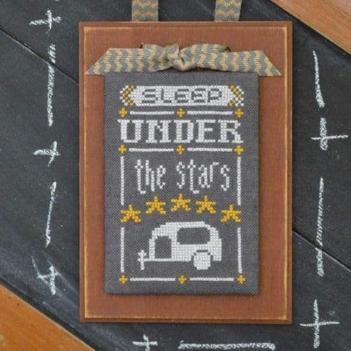 Hands on Design A Year in Chalk August cross stitch chart