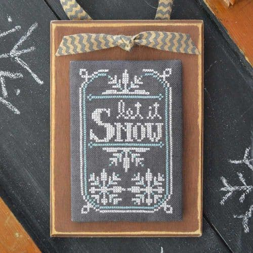 Hands on Design A Year in Chalk January cross stitch chart