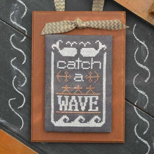 Hands on Design A Year in Chalk June cross stitch chart