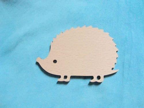 Hedgehog wooden Needle Minder