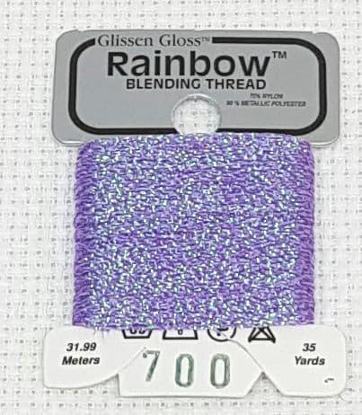 Iridescent Violet GlissenGloss Rainbow Thread 308 / R700