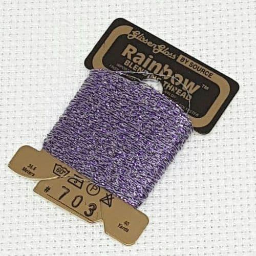 Lavender GlissenGloss Rainbow Thread 16 / R703