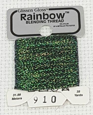 Light Flame GlissenGloss Rainbow Thread 360 / R910