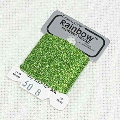 Lime Green GlissenGloss Rainbow Thread 52 / R308