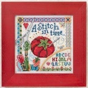 Mill Hill A Stitch in Time beaded cross stitch kit
