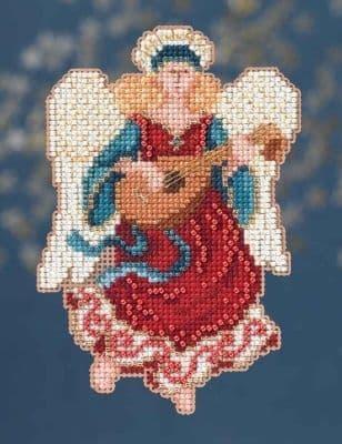 Mill Hill Angelina Angel beaded cross stitch kit