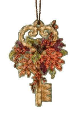Mill Hill Autumn Key beaded cross stitch kit