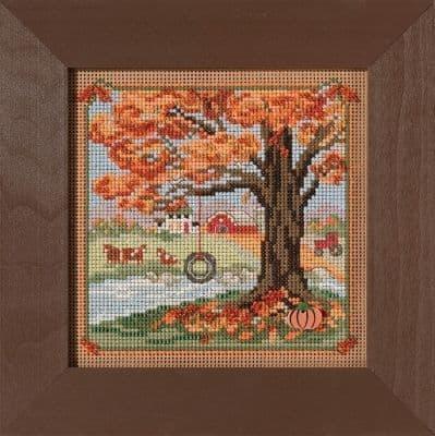 Mill Hill Autumn Swing beaded cross stitch kit