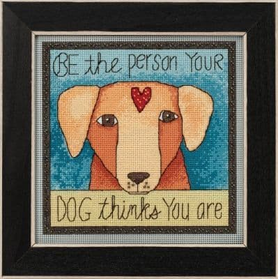 Mill Hill Be the Person beaded cross stitch kit