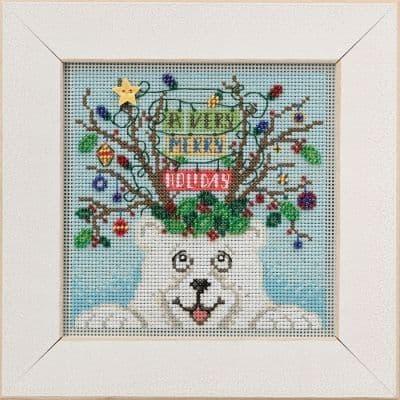 Mill Hill Beary Merry Christmas beaded cross stitch kit