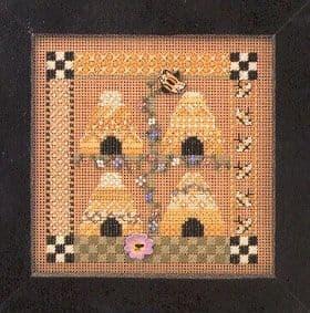 Mill Hill Bee Square beaded cross stitch kit