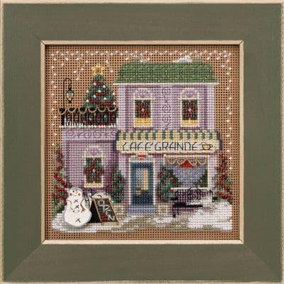 Mill Hill Cafe Grande beaded cross stitch kit