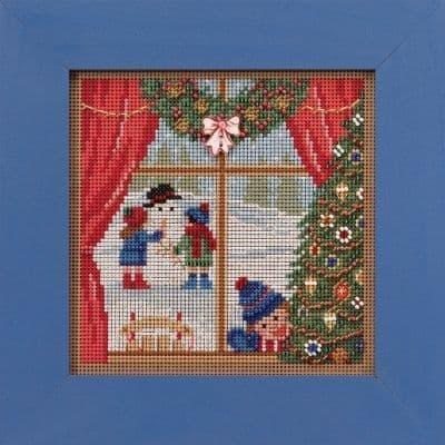 Mill Hill Christmas Break beaded cross stitch kit