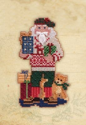 Mill Hill Christmas Giving beaded cross stitch kit