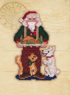 Mill Hill Christmas Memories beaded cross stitch kit