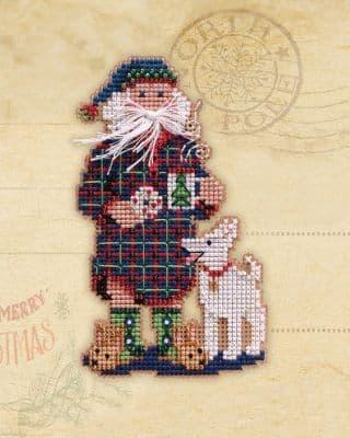 Mill Hill Christmas Morning beaded cross stitch kit
