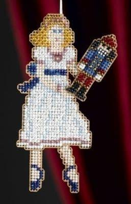 Mill Hill Clara beaded cross stitch kit