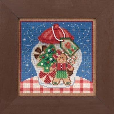 Mill Hill Cookie Jar beaded cross stitch kit