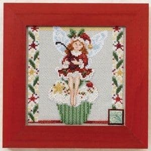 Mill Hill Cupcake Fairy by Jim Shore beaded cross stitch kit