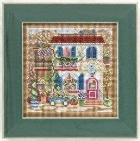 Mill Hill Flower Shoppe beaded cross stitch kit