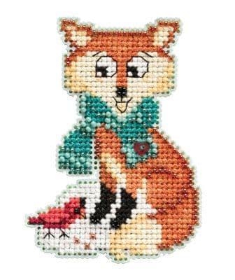 Mill Hill Foxy beaded cross stitch kit
