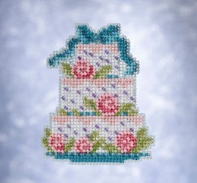 Mill Hill Frosted Cake beaded cross stitch kit