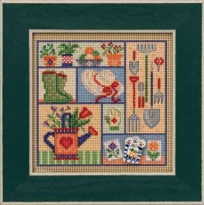 Mill Hill Garden Sampler beaded cross stitch kit