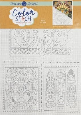 Mill Hill Go Wild Perforated Paper Color Stitch