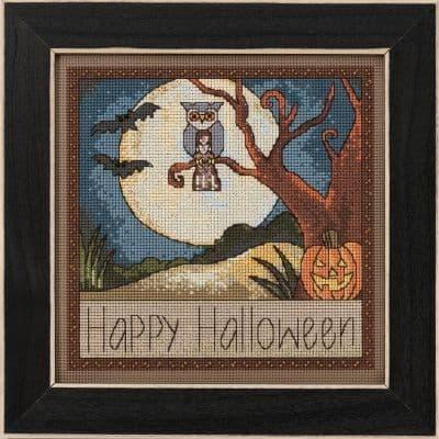 Mill Hill Happy Halloween beaded cross stitch kit