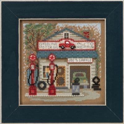Mill Hill Joe's Garage beaded cross stitch kit