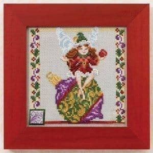 Mill Hill Ornament Fairy by Jim Shore beaded cross stitch kit