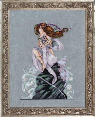 Mirabilia Andromeda printed cross stitch chart