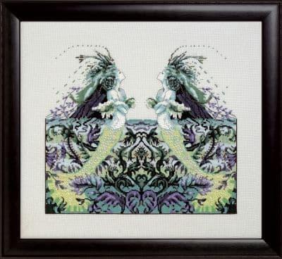 Mirabilia Echo Lake printed cross stitch chart