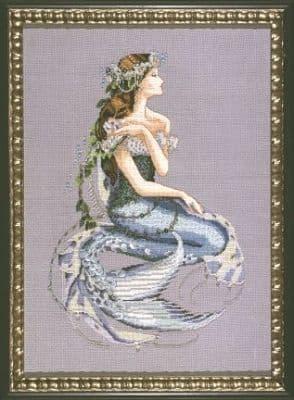 Mirabilia Enchanted Mermaid printed cross stitch chart