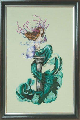 Mirabilia Mermaid Perfume printed cross stitch chart