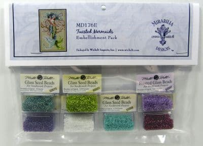 Mirabilia Twisted Mermaids Embellishment Pack