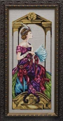Mirabilia Venetian Opulence printed cross stitch chart