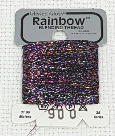 Multi Black GlissenGloss Rainbow Thread 286 (285) / R900