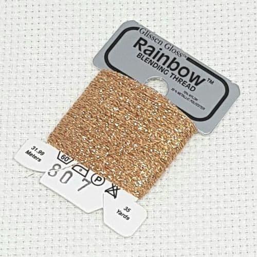 Multi Copper GlissenGloss Rainbow Thread R807