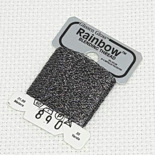 Multi Grey GlissenGloss Rainbow Thread R890