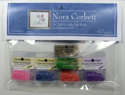 Nora Corbett Calla Lily Bride Embellishment Pack